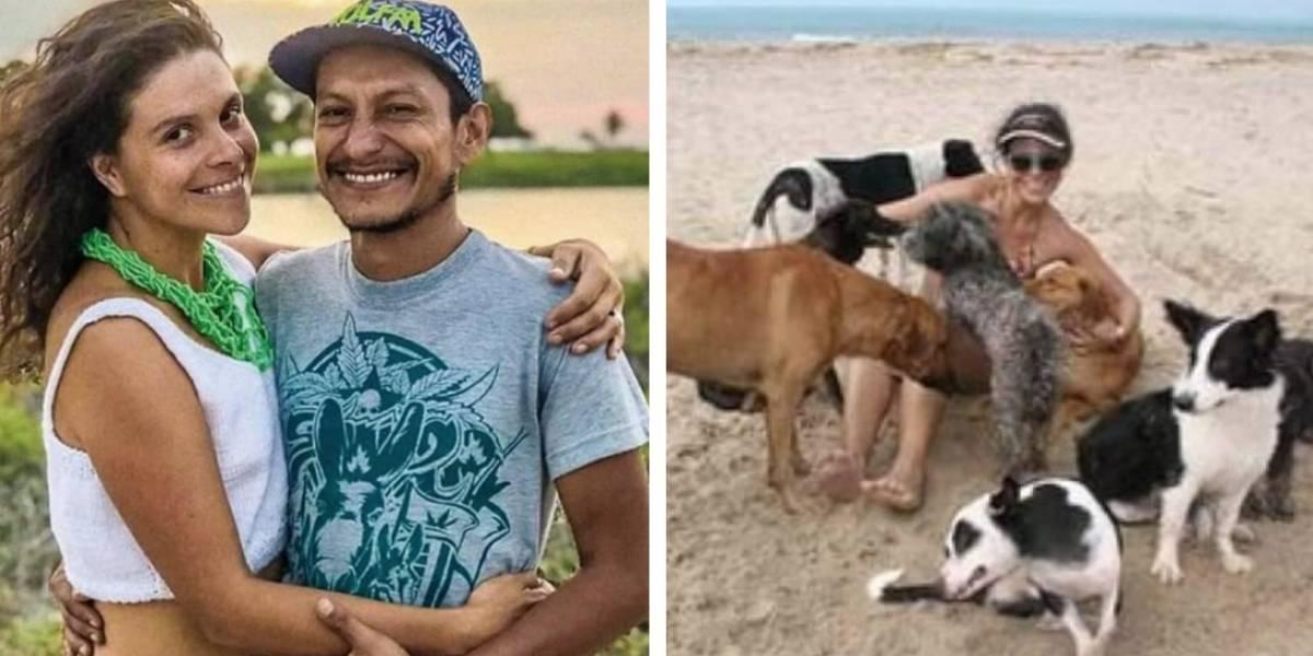 Piden ayuda para los 10 perros de la pareja asesinada en Santa Marta
