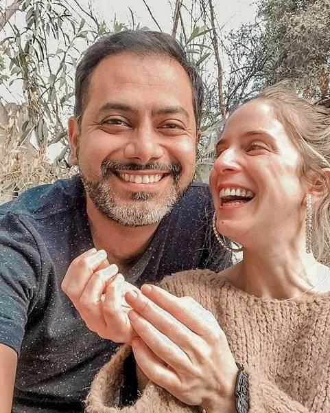 Alison Mandel y Pedro Ruminot