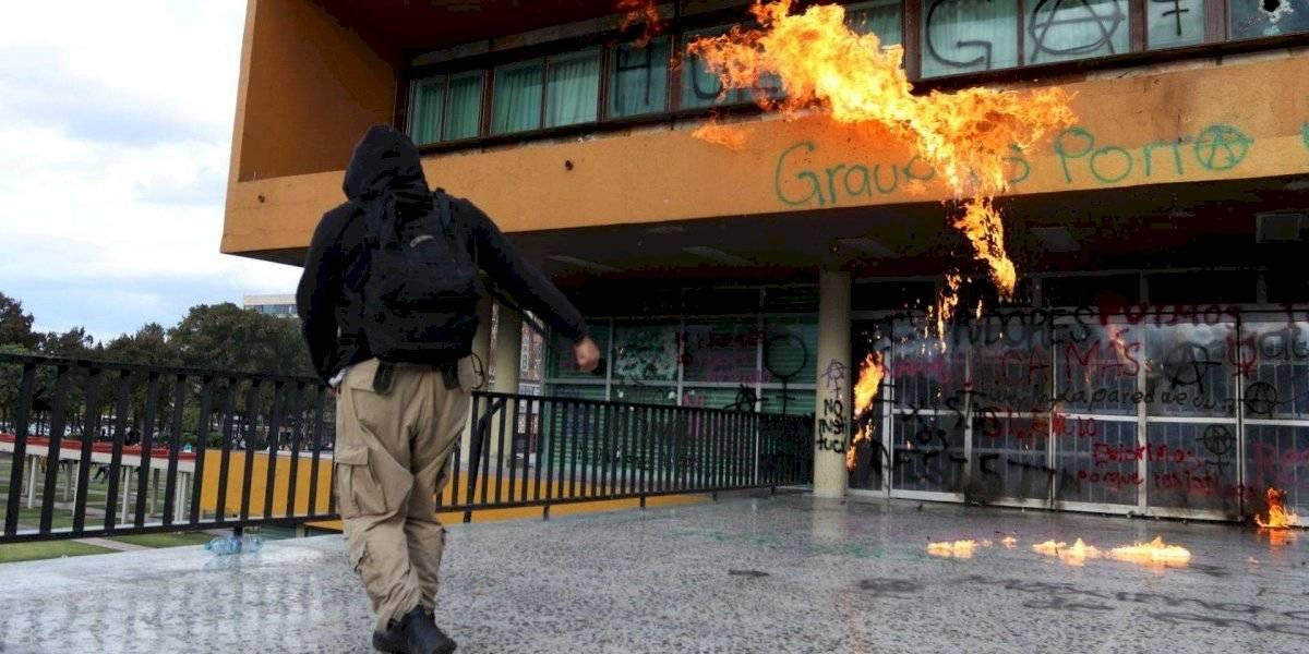 Siento que hay 'mano negra' en paros de la UNAM: AMLO