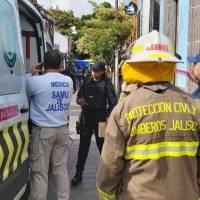 Derrumbe en restaurante de San Pedro Tlaquepaque dejó dos heridos