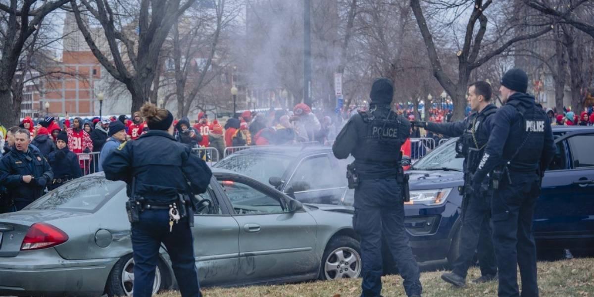 VIDEO. Desfile de los Chiefs se ve empañado por una persecución policial