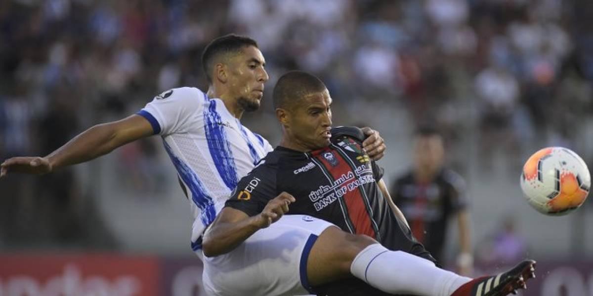 Palestino quedó con gusto a poco en importante empate en Uruguay por Copa Libertadores