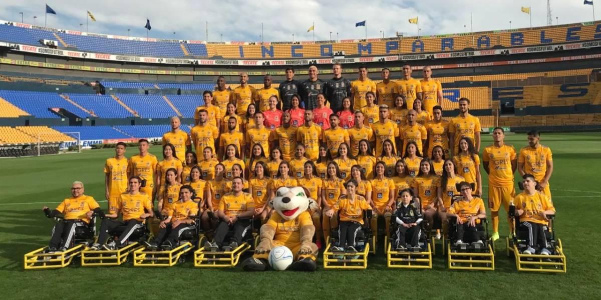 Tigres se toma la fotografía oficial del Clausura 2020
