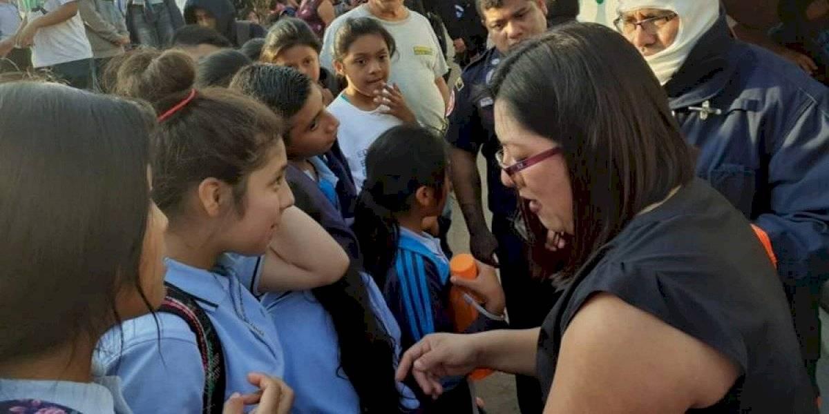 Más de 50 menores sufren picaduras por abejas en Mixco
