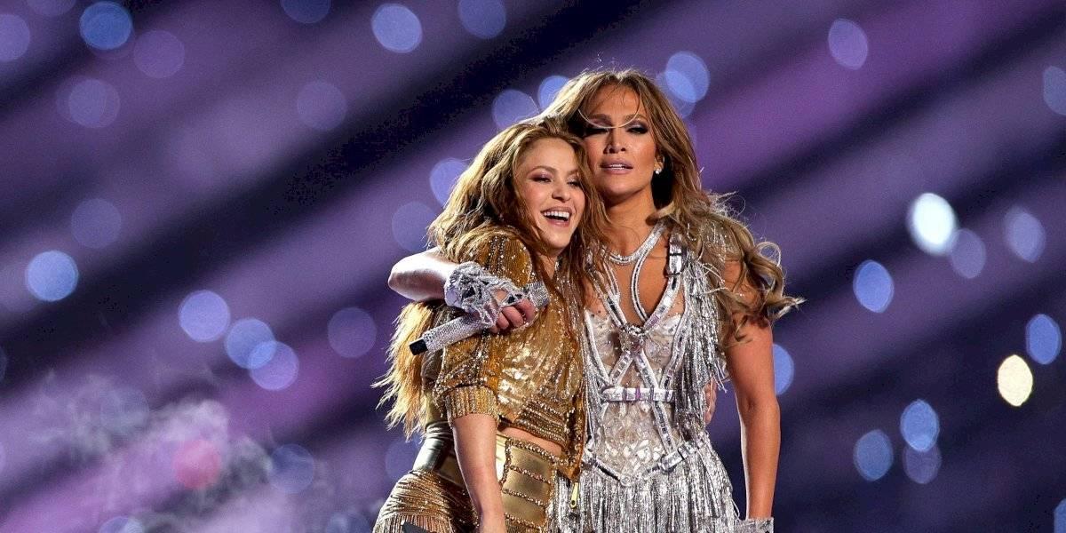 Publica video inédito de JLo y Shakira moviendo el trasero previo al Super Bowl