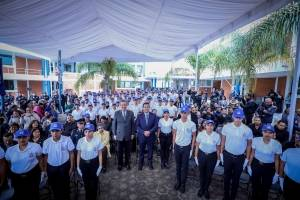 Inauguración preparatoria militarizada