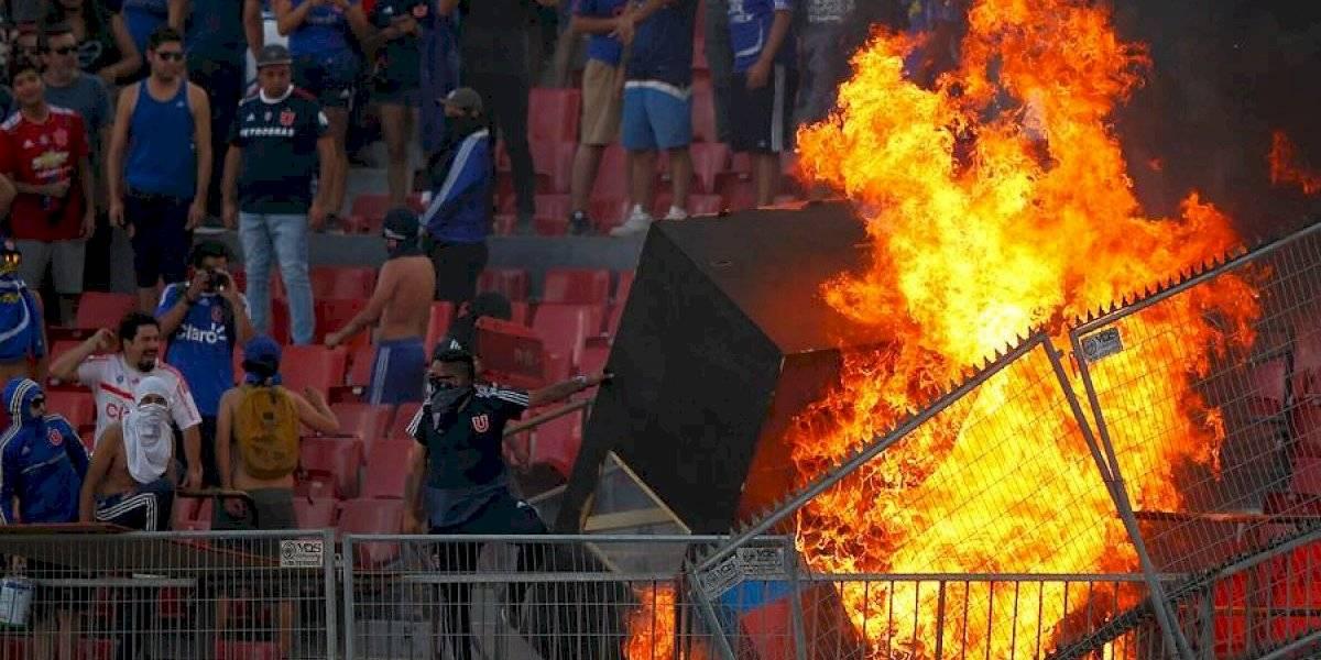 """Intendente en picada contra la U tras incidentes en Libertadores: """"El club no verificó todas las medidas comprometidas"""""""