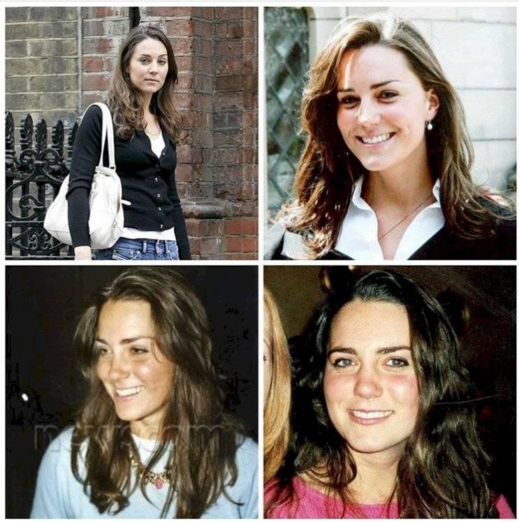 ¡Qué cambios! Así era Kate Middleton cuando era adolescente
