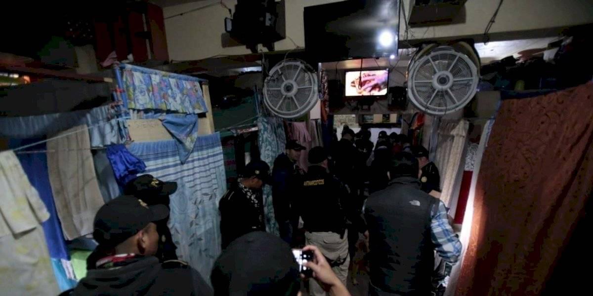 Comodidades y equipos para comunicación son localizados en cárcel de Chimaltenango