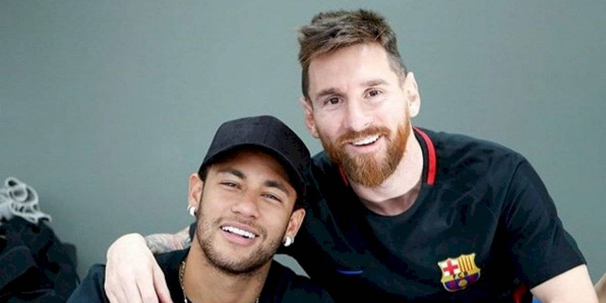 Neymar afirma que Lionel Messi es el mejor de la historia