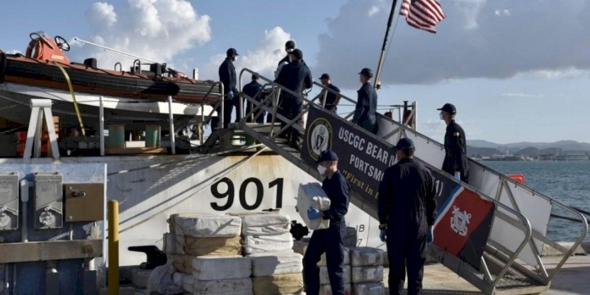 Confiscan cargamentos de cocaína valorados en $46.2 millones