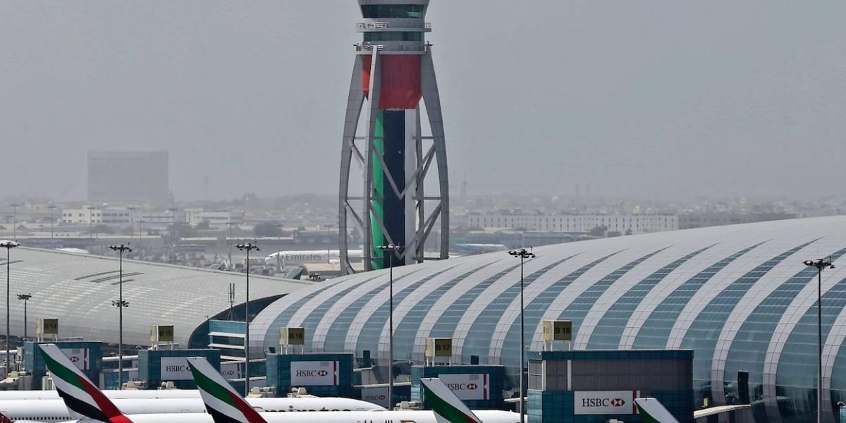Aeropuerto de Dubái, el de más vuelos internacionales