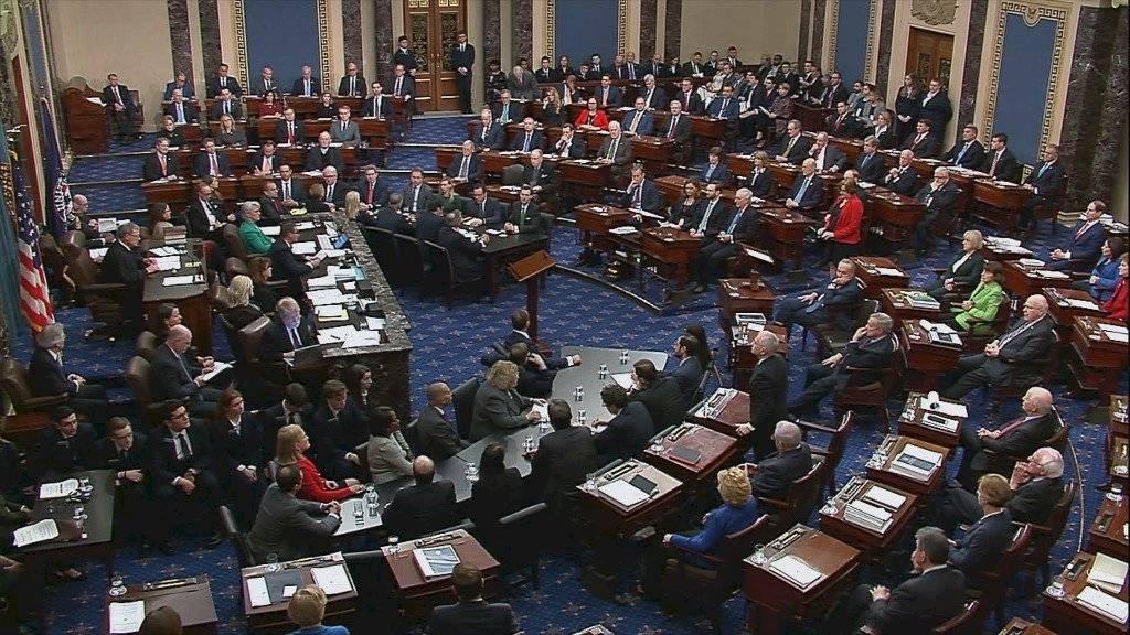 Senado de Estados Unidos absuelve a Donald Trump