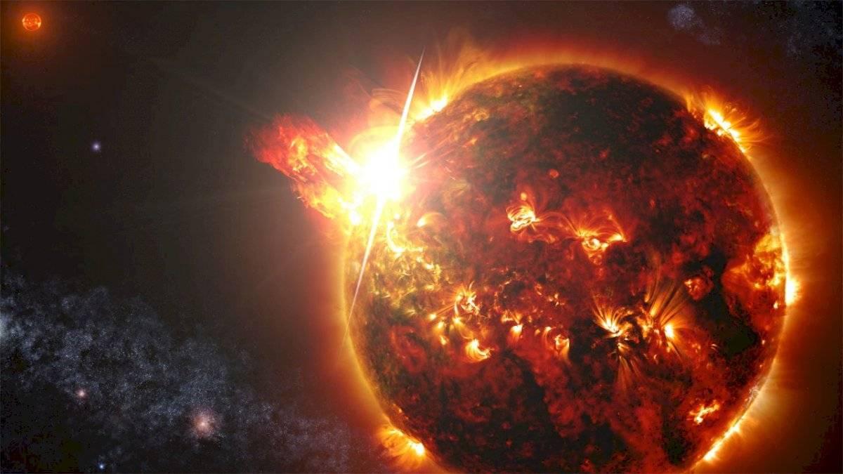 sol explosión