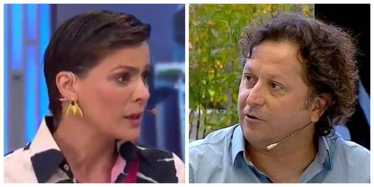 Daniel Alcaíno desclasifica roce con Tonka Tomicic: asegura que animadora le quitó el saludo