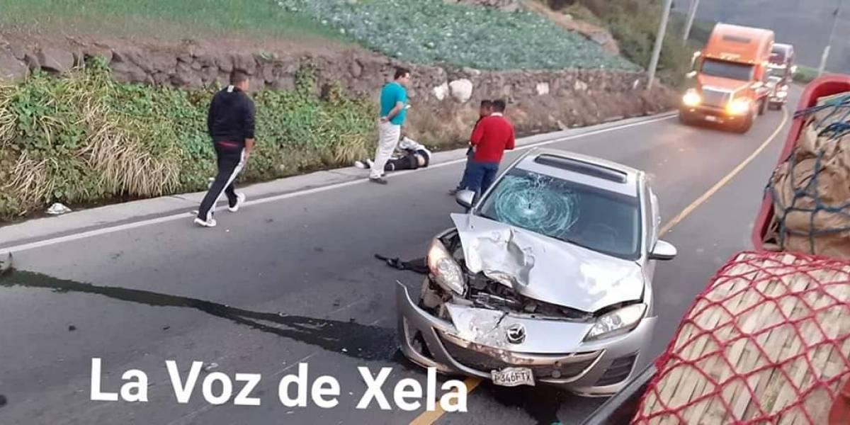 Varios accidentes viales protagonizados por motoristas dejan un fallecido