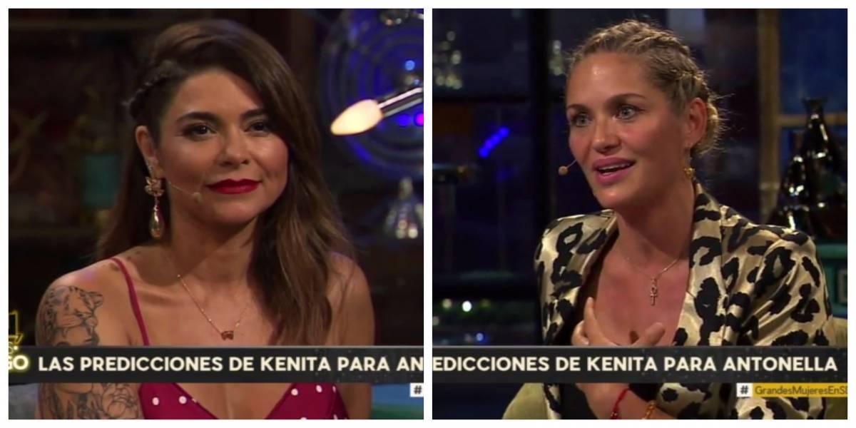 """Antonella Ríos rompió en llanto tras escuchar predicción de Kenita Larraín en """"Sigamos de Largo"""""""