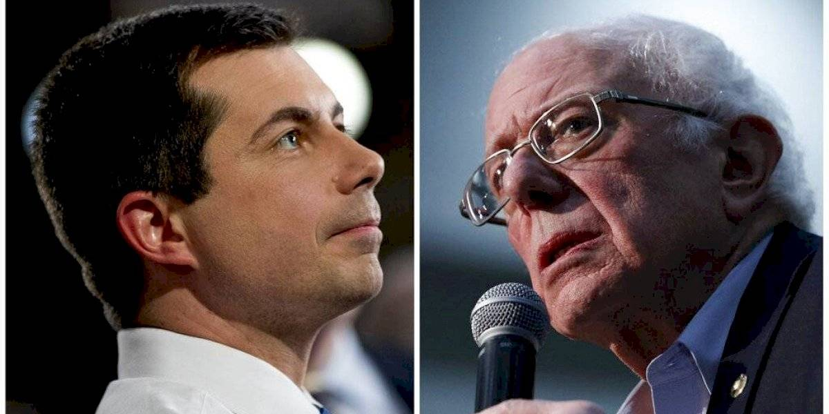 Iowa: Pete Buttigieg y Bernie Sanders, igualados con casi 100 por ciento del conteo