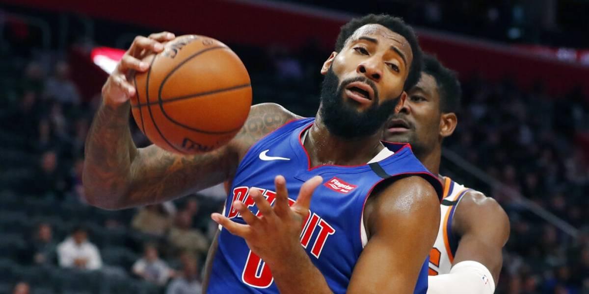 Pistons salen de Andre Drummond y lo envían a Cleveland