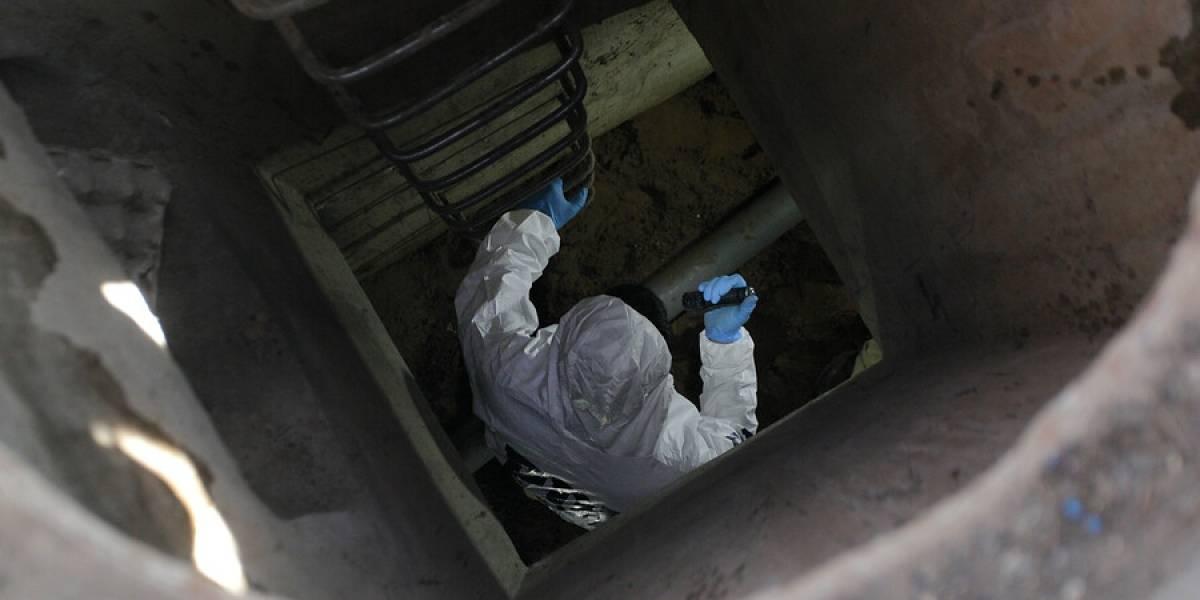 De película: detienen a cinco sujetos que excavaban elaborado túnel para ingresar a sucursal bancaria en Concón