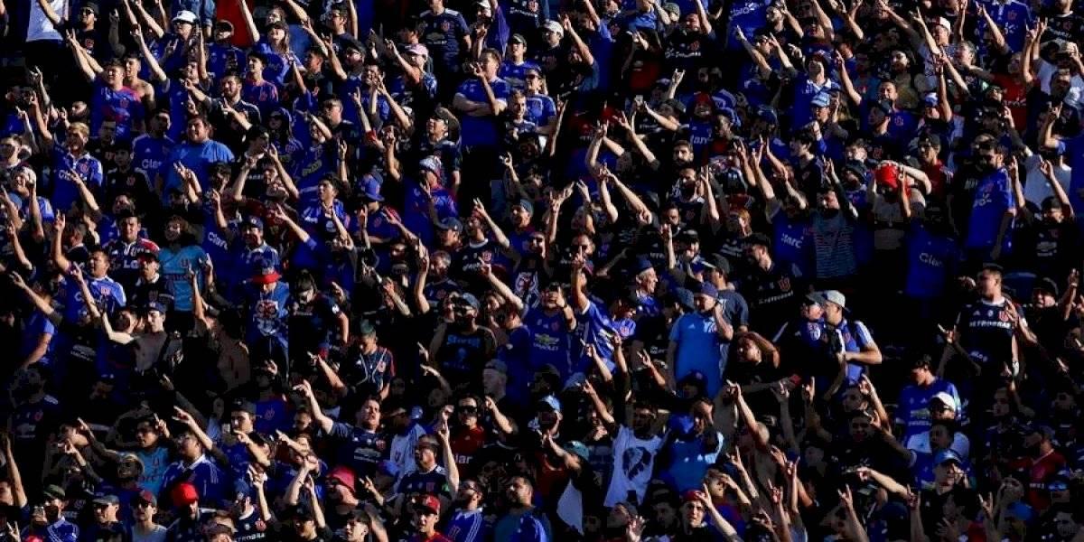 Hinchas de la U presentaron recurso de protección por prohibición de ingreso por parte de Azul Azul