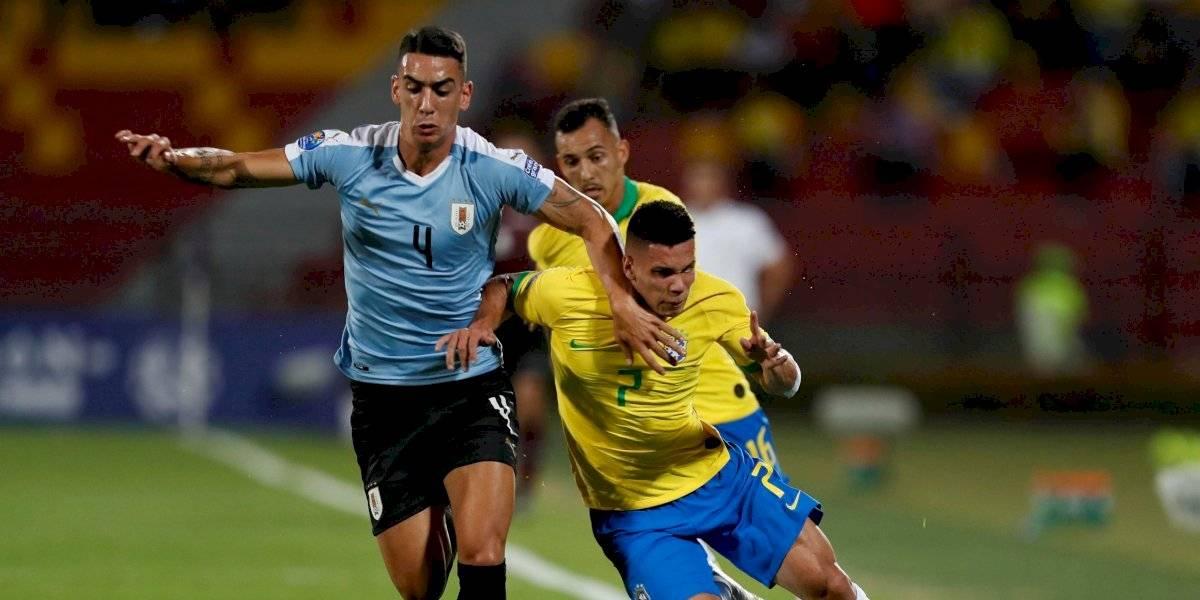 ¡Jugaron para Colombia! Brasil y Uruguay empataron y crece la ilusión tricolor de ir a Tokio