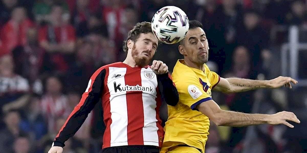 """""""Es un día triste, pero nos quedan dos competiciones"""": Sergio Busquets"""