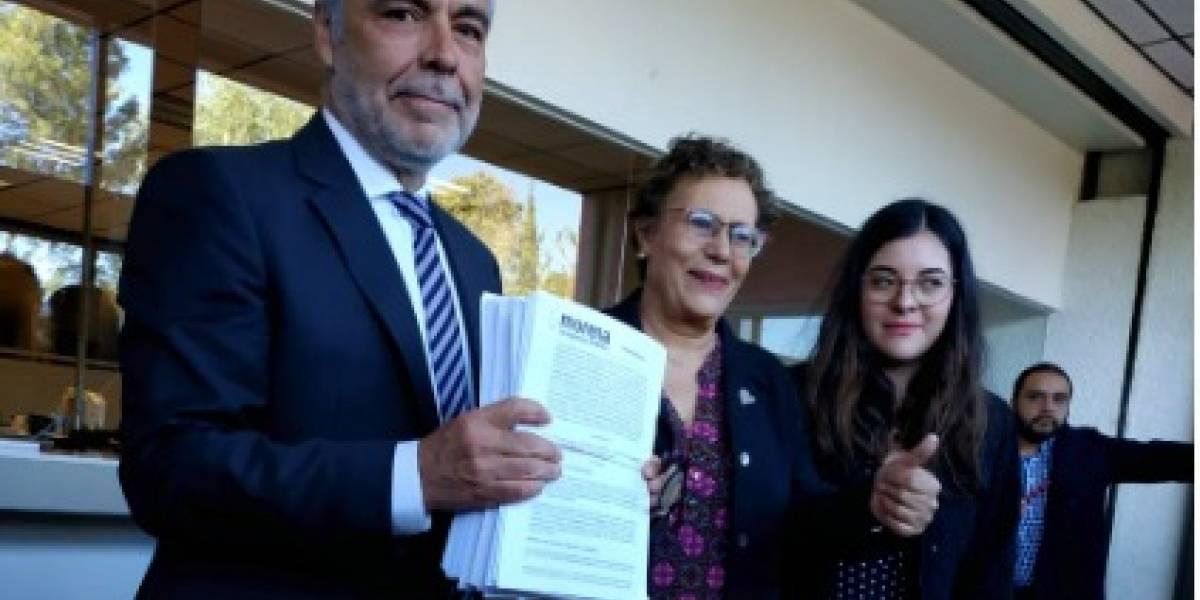 Ramírez Cuellar solicita al INE su aval como presidente de Morena