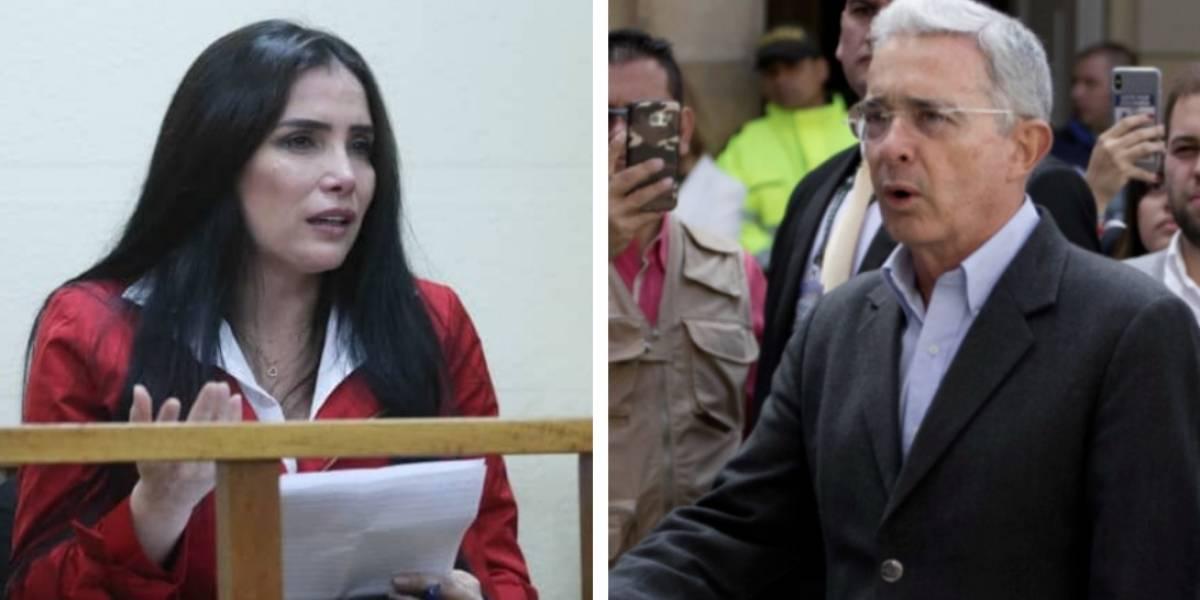 Aida Merlano denuncia un delito de Álvaro Uribe del que fue testigo