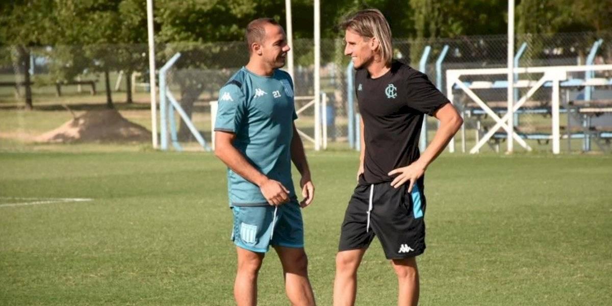 Beccacece patea el tablero en Racing y saca a Marcelo Díaz de la titularidad para el Clásico de Avellaneda