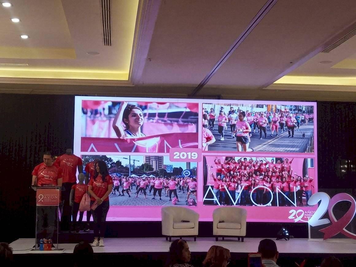Presentación de la carrera-caminata Avon 2020