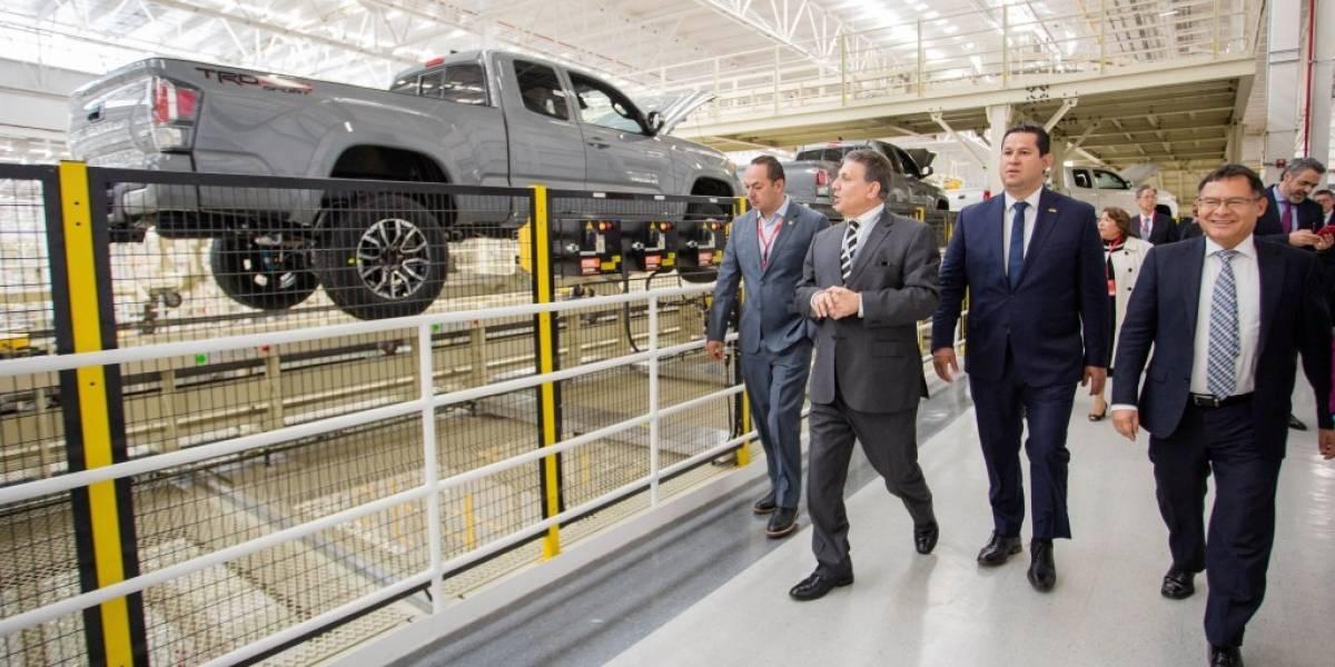 Toyota inicia operaciones en Guanajuato