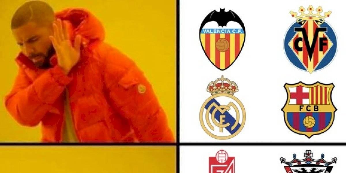 Los mejores memes de las eliminaciones del Barcelona y el Real Madrid