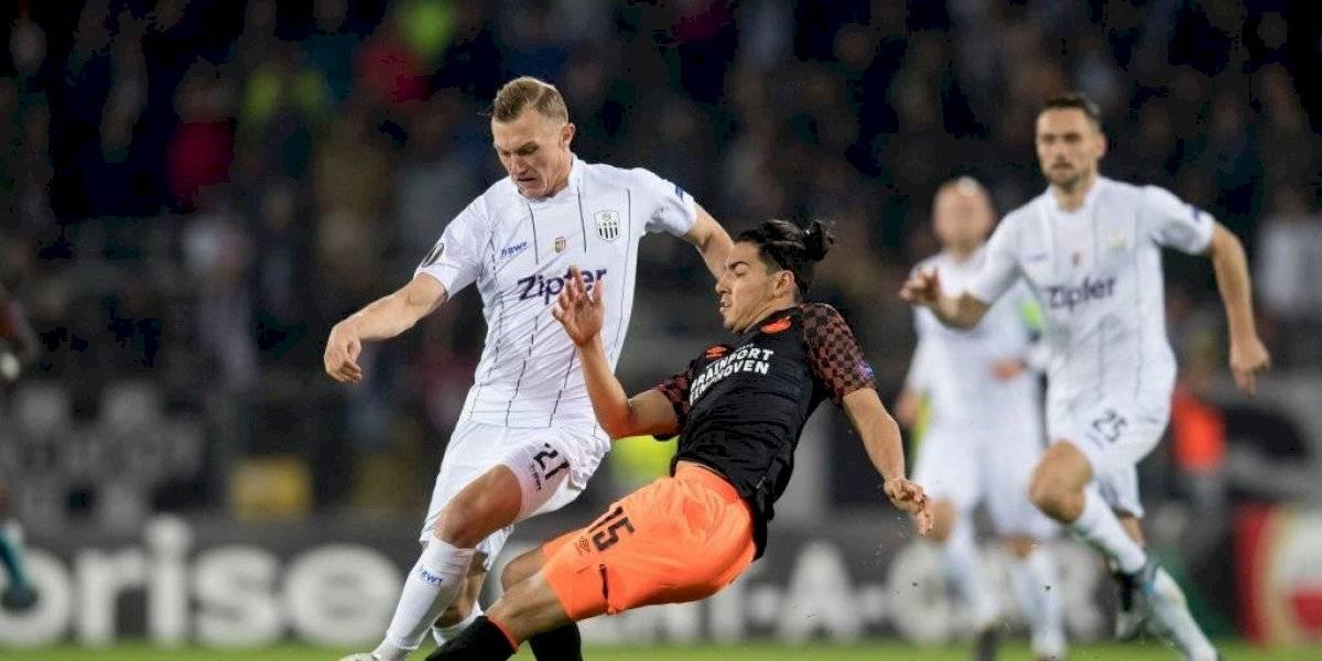 Erick Gutiérrez acepta que el PSV no ha sido lo que esperaba