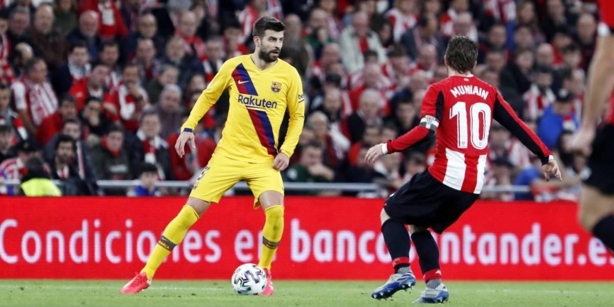La acción de Piqué que se ha vuelto viral tras la eliminación del Barcelona