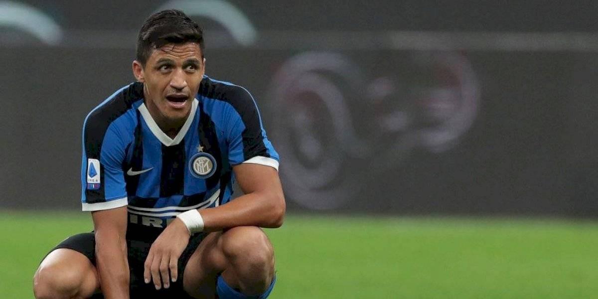 Antonio Conte se la jugaría por Alexis Sánchez para tener su primera titularidad en el clásico ante Milan