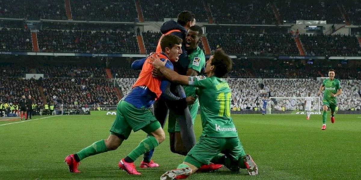 Real Sociedad dio el batacazo y eliminó al Real Madrid de la Copa del Rey