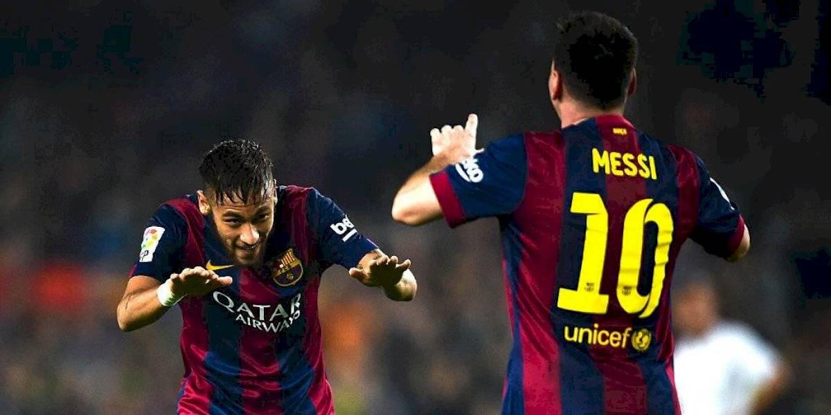"Neymar: ""Messi es el mejor de la historia"""
