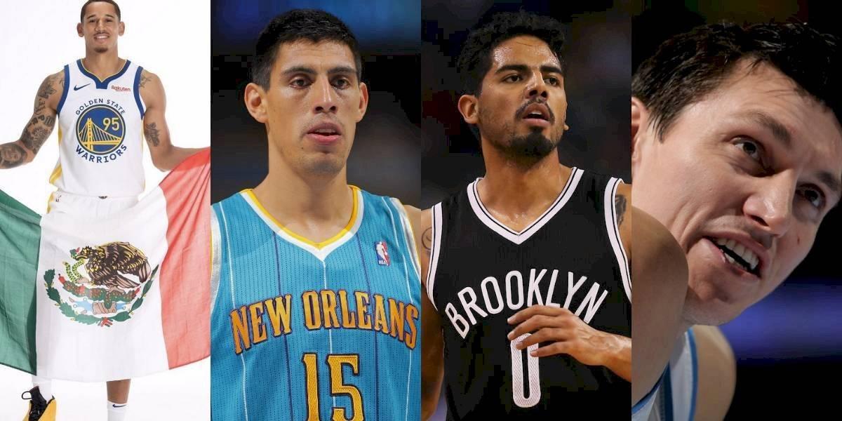 Conoce a los mexicanos que han jugado en la NBA