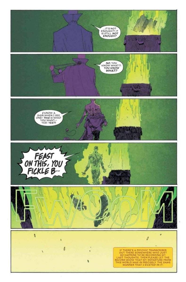 Muerte de Doctor Strange