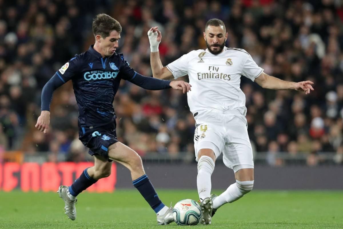 Real Madrid vs. Real Sociedad | Los merengues quieren seguir en ...