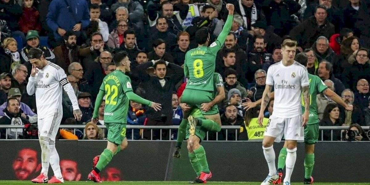 La Real Sociedad da la sorpresa y elimina al Real Madrid