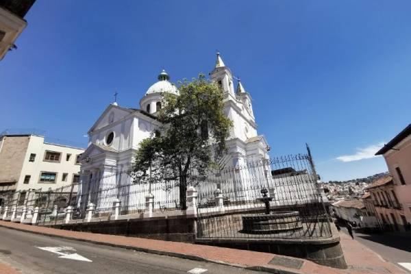Iglesia de Santa Bárbara en Quito