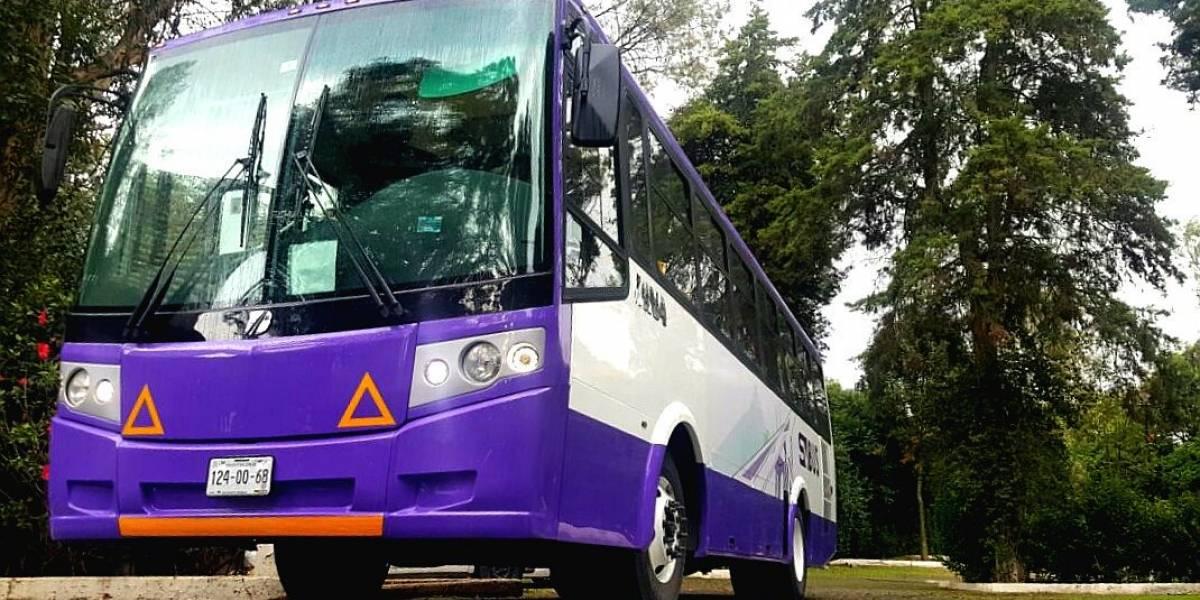 Proponen que viajes largos en microbús se realicen a través de una app