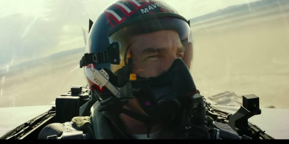 Tom Cruise dispensa dublê e faz cenas a bordo de caça no novo Top Gun