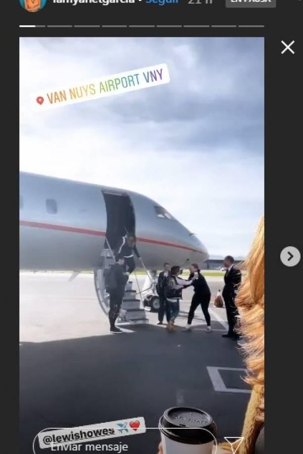 Yanet García ahora viaja en un lujoso jet privado