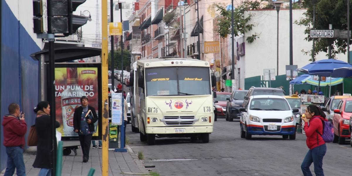 Se reordenará el transporte público en el Centro de Puebla