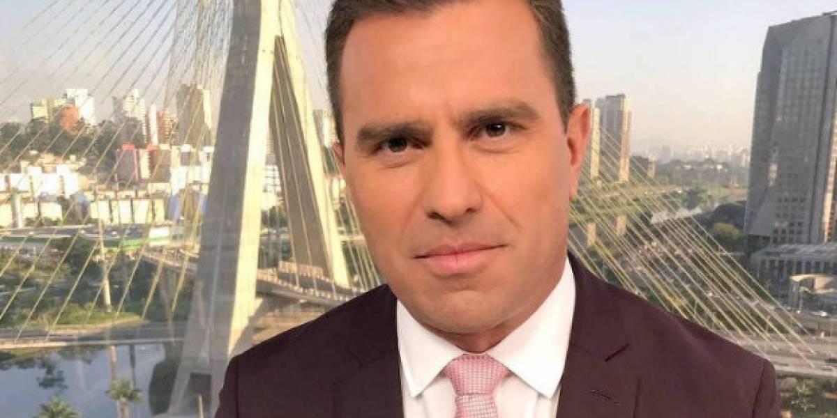 Rodrigo Bocardi pode mudar de jornal após a dança das cadeiras na Globo