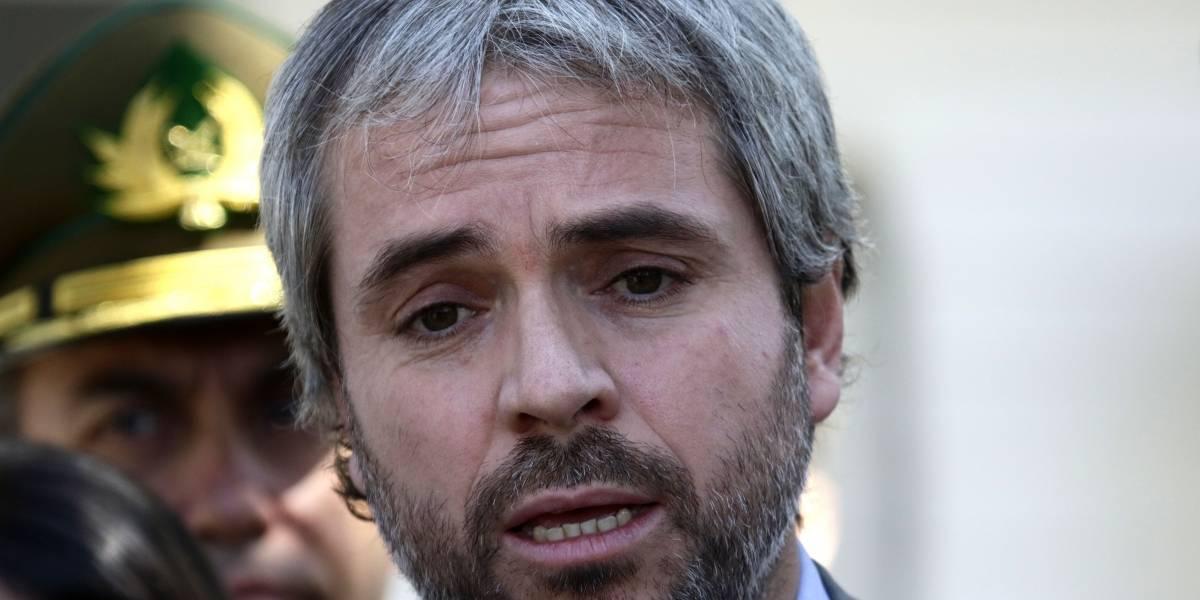 """Blumel: """"El alto mando determinó la intervención de la Comisaría de Puente Alto"""""""