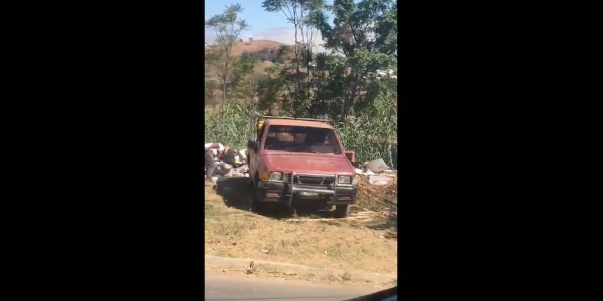 Autoridades de Villa Nueva buscarán a quienes tiran basura en las calles